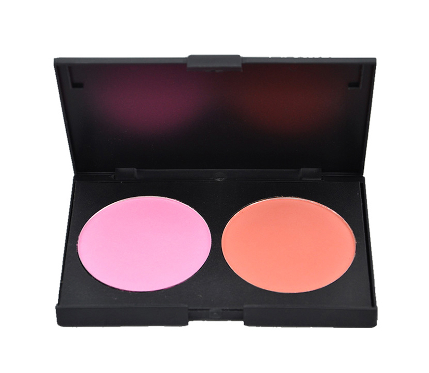 Bause cosmetics 2 color blush palette
