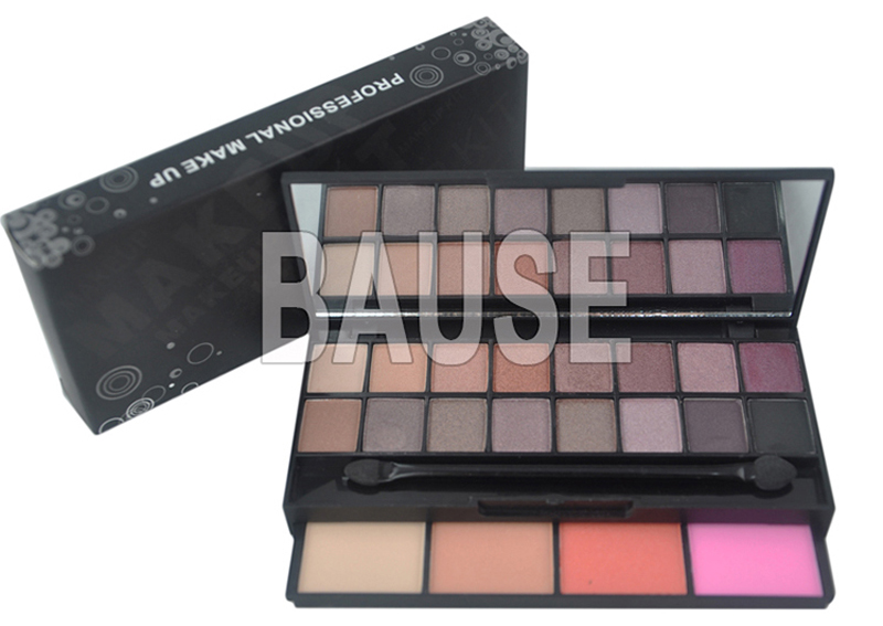 Bause cosmetics color makeup set