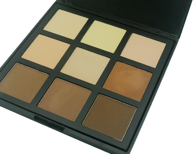 cream contour palette