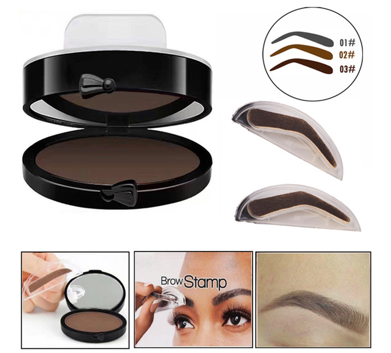 customized eyebrow stamp
