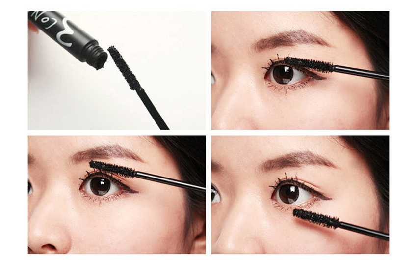 bause cosmetics customized mascara application