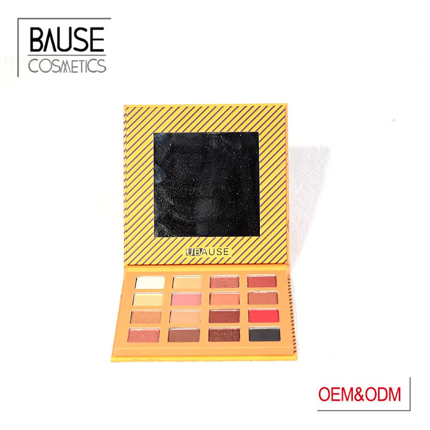 bause cosmetics neon glitter eyeshadow palette