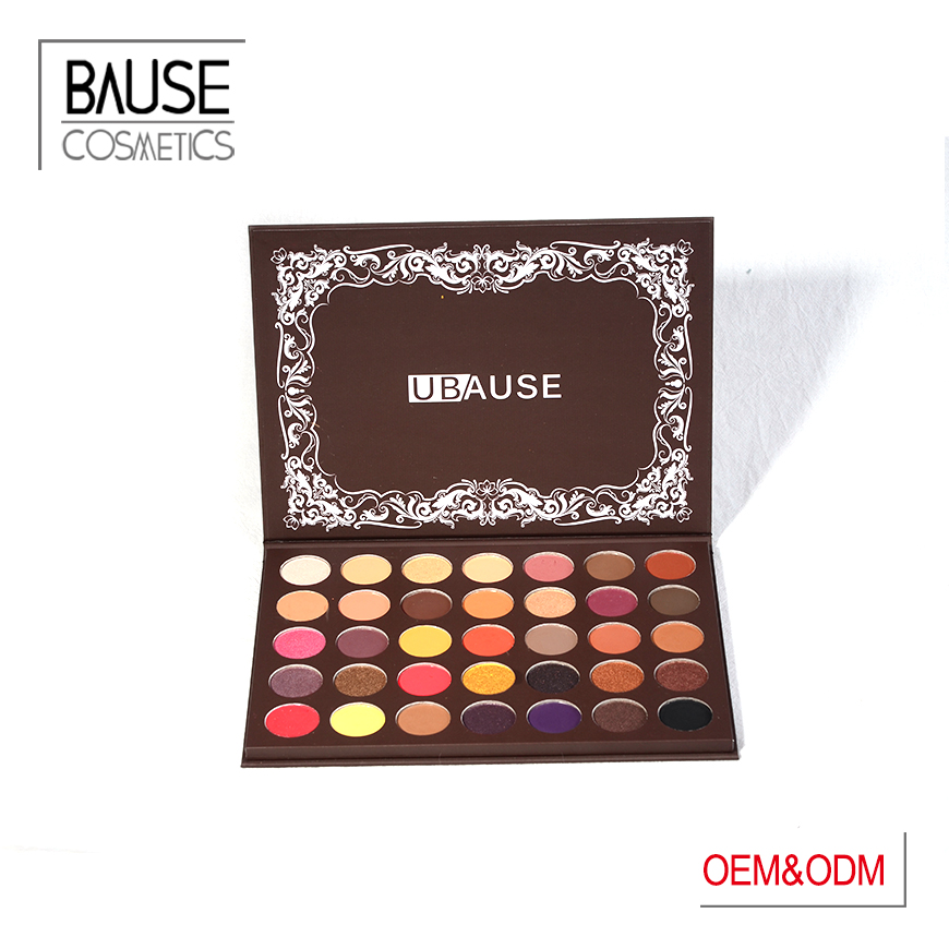 bause cosmetics warm eyeshadow palette