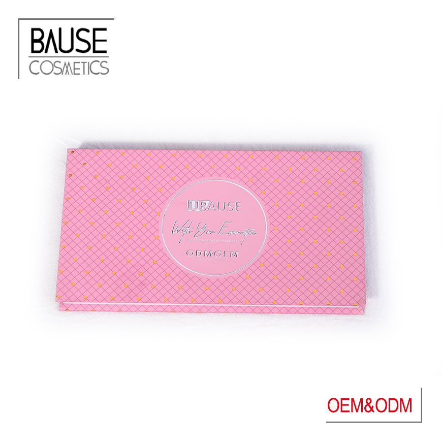 Bause Cosmetics red eyeshadow palette