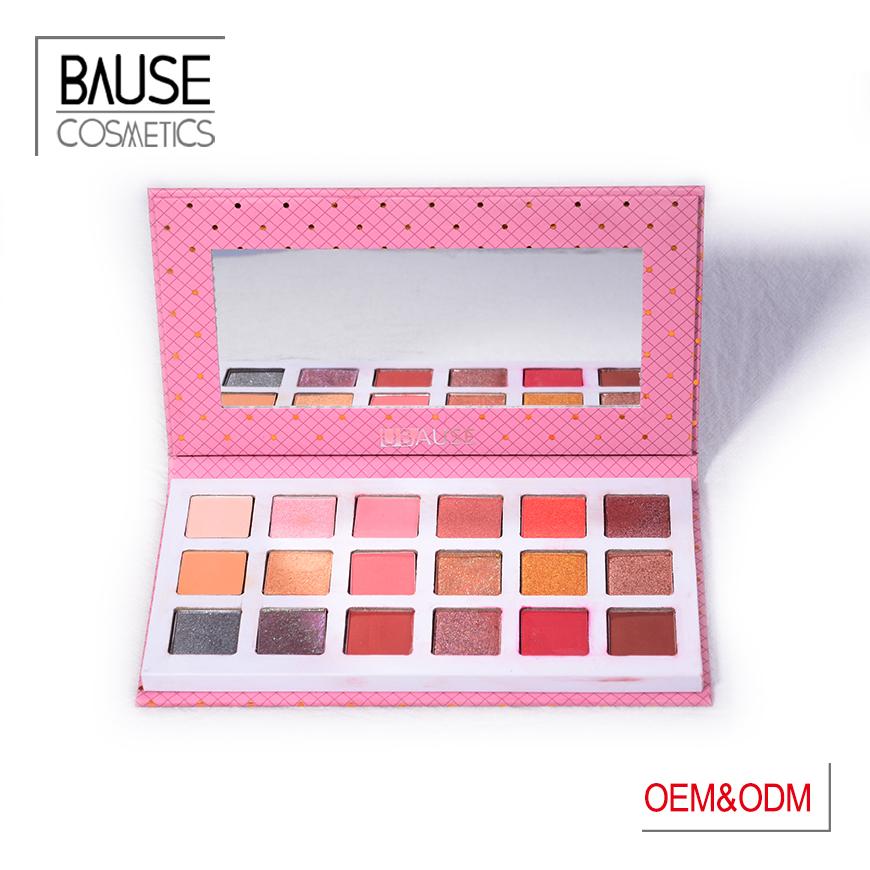 Bause cosmetics organic eyeshadow palette