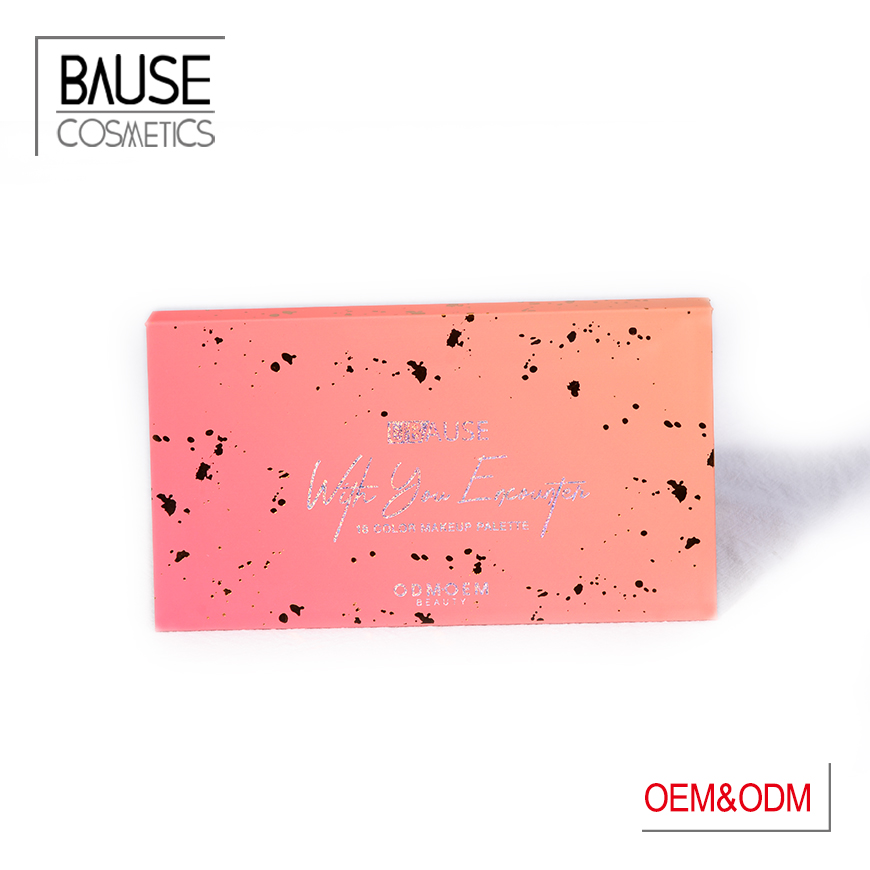 matte eyeshadow palette of bause cosmetics