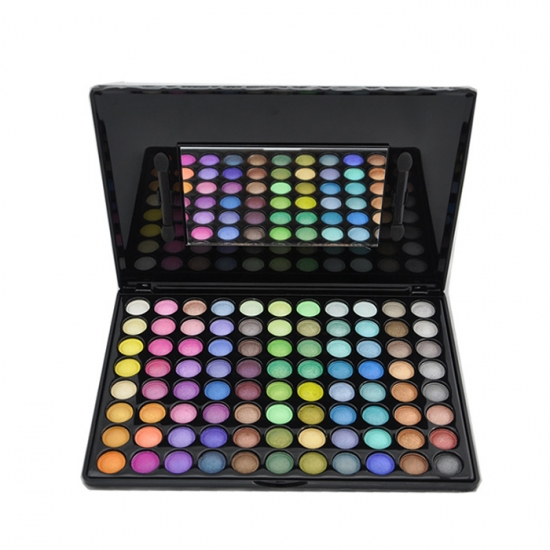 Glitter private label eye makup cosmetics eyeshadow palette