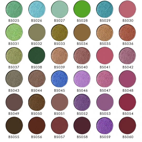 10 Color easy ware matte high pigment eyeshadow palette