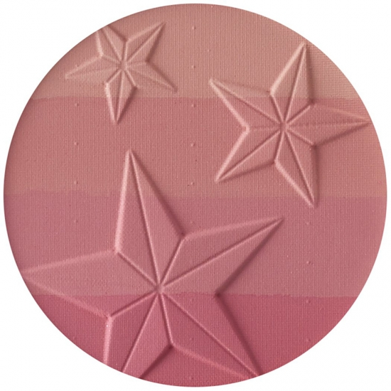 Amazon hot selling star shape mulit color cheek makeup blush
