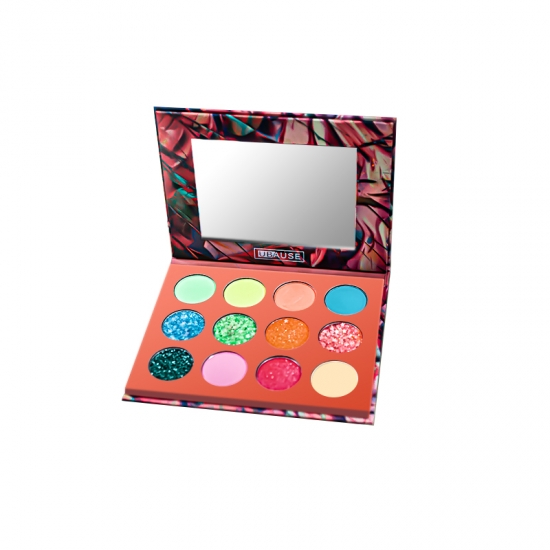 High pigment waterproof neon eyeshadow palette