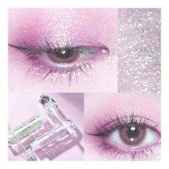 metallic shimmer eyeshadow