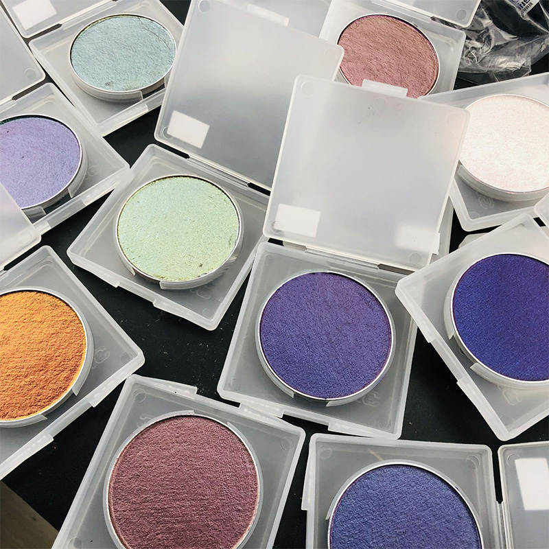 Duochrome / chameleon / iridescent eyeshadow Newly arrival