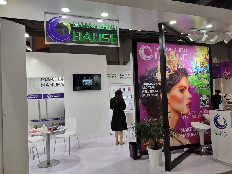 Bause Cosmetics shows in HK COSMOPROF Hall 10-K22